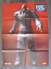 RESIDENT EVIL 3 Nemesis - World of Playstation Poster - Survival Horror PS1