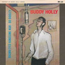 """Buddy Holly """"Brown Eyed Handsome Man"""" 1984 UK Portrait Series Record & PS Mint"""