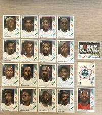 Panini World Cup 2006 Ivory Coast Team Full Set Of 19 Soccer Football Stickers
