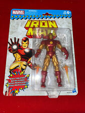 MARVEL LEGENDS VINTAGE RETRO STYLE IRON MAN BRAND NEW ON CARD