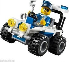 LEGO CITY AUTO DELLA POLIZIA 30228 MINIFIGURES