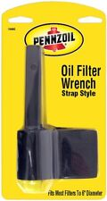 Pennzoil Strap Type Oil Change Filter Wrench Tool for Car-Truck