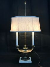 Vintage Bouillotte Style Lamp with Alladin Genie Lamp Flame Candle  RARE