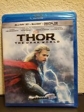 Thor The Dark World 3D + Blu Ray (SEALED AND NEVER OPENED)
