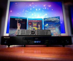 PIONEER BDP-140 3D Blu-Ray Player + Movie Bundle