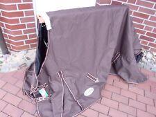 Regen / Outdoordecke  600 Denier,100g Füllung Gr. 155 cm braun