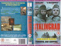 STALINGRAD VHS PAL THOMAS KRETSCHMANN,JOCHEN NICKEL,SEBASTIAN RUDOLPH RARE 90'S