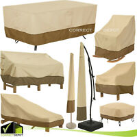 Classic Accessories Patio Furniture Waterproof COVERS Outdoor ASSORTED SIZES SET