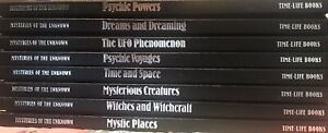 MYSTERIES of the UNKNOWN lot (8 hc) TIME - LIFE psychic mystic dreams phenomenon