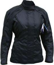 Blousons noirs en cordura pour motocyclette femme