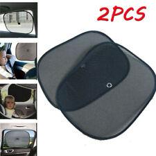Car Side Window Black Mesh Sun Shade Visor Anti-UV Cover Shield For Kids Baby U7