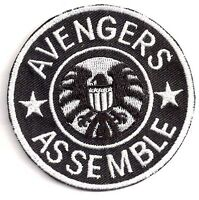 "AVENGERS Assemble/Agents of SHIELD TV 3"" Logo Patch- FREE S&H (ASPA-020)"