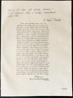 1926 - Litografía citación MM. Cyrill Dusek, Habrman