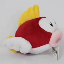 """Super Mario Bros. 3D World Flying Fish 6"""" Plush Toy Stuffed Animal Nintendo Doll"""
