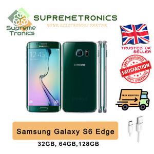 SAMSUNG GALAXY S6 EDGE 32GB 64GB 128GB | UNLOCKED | ALL COLOURS | FULLY TESTED