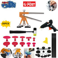 Dent Puller Removal Car Body Paintless Hail Repair Lifter Kit Tool Glue Gun Set