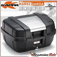 BMW R 1200 GS 2004/2012 KAPPA GARDA MONOKEY MOTORCYCLE TOP BOX 52 LTR WITH PLATE
