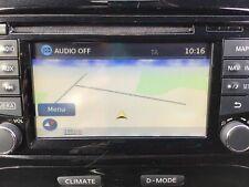 2016 NISSAN JUKE RADIO SAT NAV CD PLAYER 25915BV80A