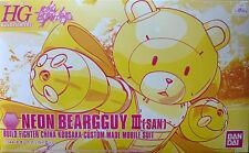 Neon Beargguy III [San] ネオンベアッガイIII (さん) from Gundam Build Fighters series