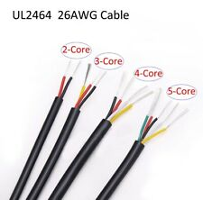 UL2464 26AWG Sheath Power Cord Cable 2/3/4/5/6/8/10 Core Signal Soft Wire 80°C