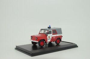 RARE !!! UAZ 469 Latvia Fire Jeep Custom Made 1/43