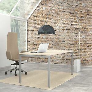 PROFI Schreibtisch NOVA in Ahorn 180 x 80 cm Bürotisch Computertisch Büro