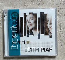 CD AUDIO FR / EDITH PIAF LES N°1 DE EDITH PIAF 2XCD COMPILATION 2009 UMSM 40T