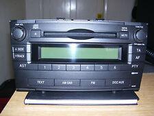 TOYOTA AVENSIS CAR RADIO JADEKIND W53827 (VGC)
