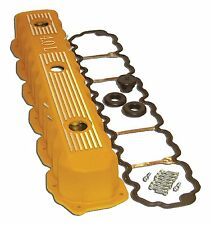 Jeep fits Various Models of 4.0L Engine Aluminum Valve Cover - Yellow