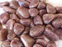 *THREE* Pink Aventurine Tumbled Stones 20-25mm QTY3 Healing Crystals YinYang