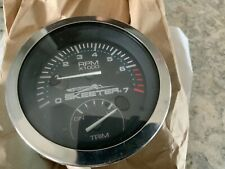 New ListingSkeeter Boat Multifunction Gauge Tachometer and Trim. New old stock
