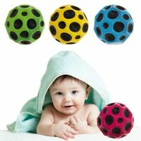 Moon Surface Ball Extreme Bounce Fast Spin Lightweight Throw Stylish~ LrJNE