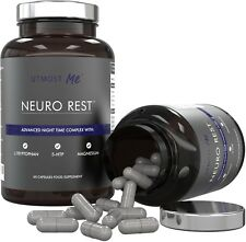 Sleeping Pills with 5 HTP - Plus Natural Melatonin Sources, L-Tryptophan, and |