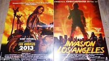 LOS ANGELES 2013 + INVASION LOS ANGELES !  john carpenter affiche cinema