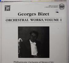 Georges Bizet Orchestal Works, Vol I, Enrique Batiz conductor 33RPM   011517LLE