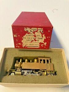HO Brass 2-6-2 Side Tank Locomotive Ken Kidder