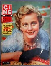 ►CINE REVUE 40/1956-MARIA SCHELL-JEAN RICHARD-MARILYN MONROE-BRIGITTE BARDOT...