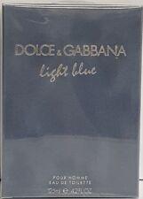 D & G Light Blue men Eau De Toilette Spray 4.2 oz