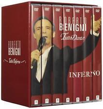 Dvd Collezione Completa - Tutto Dante:L'Inferno (34 Dvd) Roberto Benigni ..NUOVO