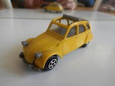 Norev Citroen 2cv6 in Yellow on 1:43