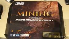 Asus b250 mining expert with CPU, RAM, HDD