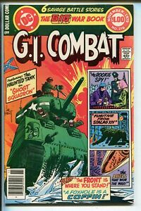 G.I. COMBAT #216 1979-DC-THE HAUNTED TANK-JOE KUBERT-GLANZMAN-nm-