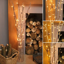 Indoor Mains Plug Christmas Home Nordic Fairy String 20LED Twigs Branch Lights