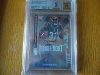 2014 panini contenders ROOKIE AUTO PLAYOFF TICKET JEREMY HILL BECKET GRADED 9 MI
