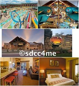 Wyndham Glacier Canyon Resort 3BR DLX SEPTEMBER 29-OCT 1 Wisconsin Dells Rental