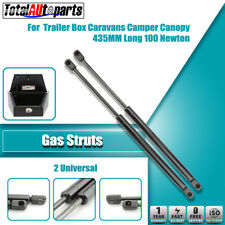 2x 435MM 100N Gas Struts for Caravans Camper Trailers Canopy Toolboxes Cabinets