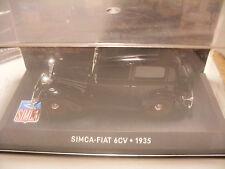 voiture 1/43 eme IXO ALTAYA SIMCA-FIAT 6CV 1935