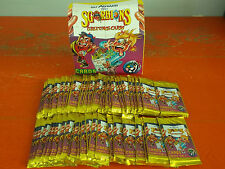 LOT OF 60 STICKERS GREETINGS CARDS OF Sgorbions Scratch'n STINK IN BOX NEW SEALE