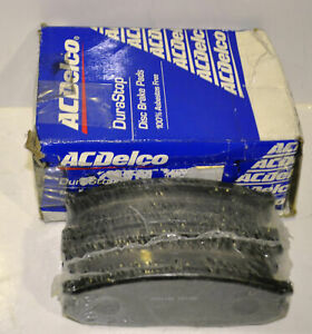 Genuine New Acdelco Rear Brake Pads Ford Maverick Raider Nissan Patrol GQ