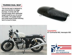 Royal Enfield Twins GT Continental 650 cc Touring Dual Seat (US Warehouse)